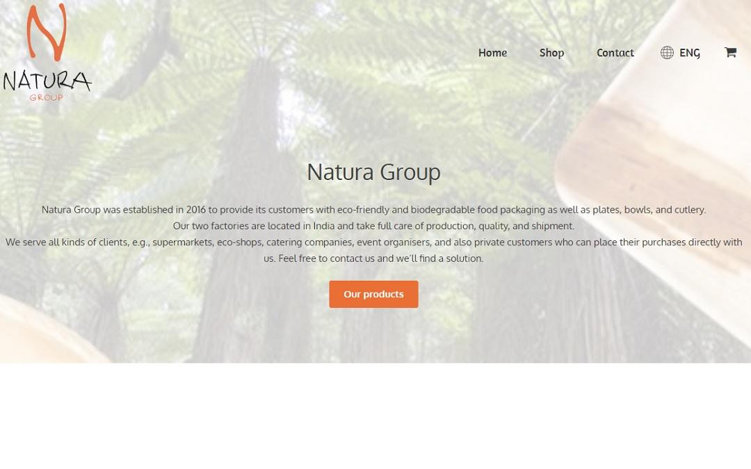 naturagroup.eu ekraanitõmmis